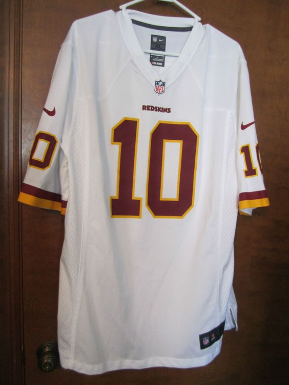Washington Redskins Robert Griffin III Jersey #10 Nike NFL Football XL Men's…