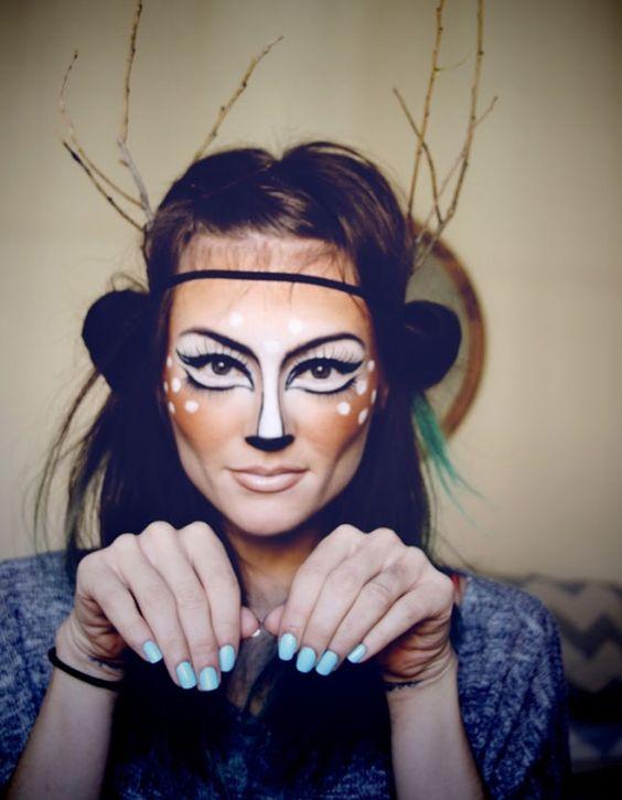 Schminke Halloween Frauen Makeup