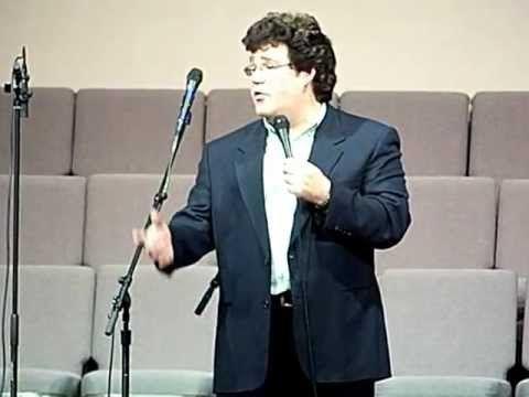 Marty Raybon giving his testimonial