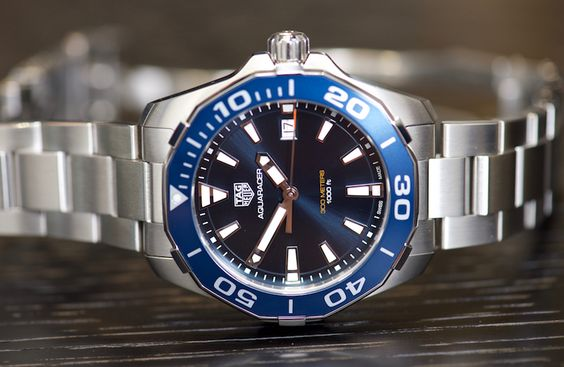 New TAG Heuer Aquaracer Black Titanium Watches For 2016 Hands-On
