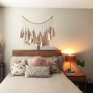 Oversized Tassel Garland In 2020 Bedroom Wall Decor Above Bed Decor Over Bed Above Bed Decor
