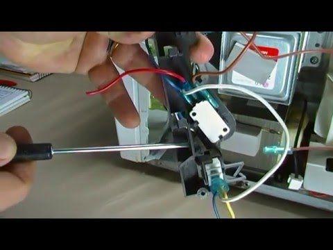 4 Curso De Reparacion Hornos Microondas Basicos Video 11 Switches De Puerta Youtub Hornos Microondas Reparacion De Lavadoras Electricidad Y Electronica