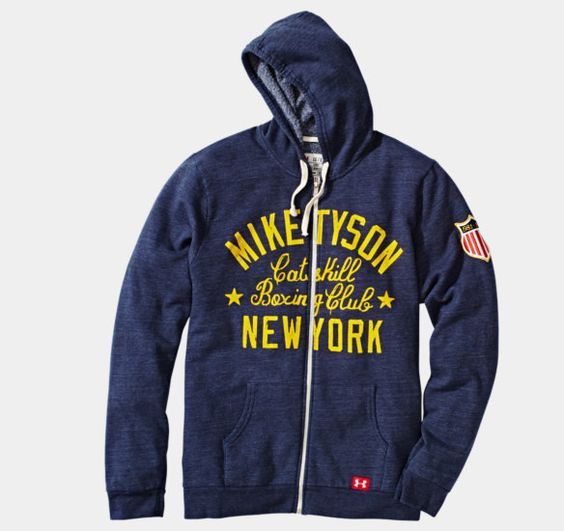Men's Roots Of Fight™ Mike Tyson Kid Dynamite Hoodie   1256583   Under Armour US