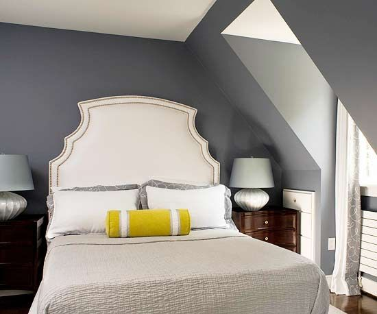 Can't wait to paint my bedroom gray.