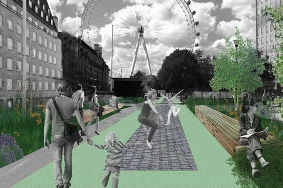 Forget The Tube: Trampoline Into Work From Next Year | Londonist