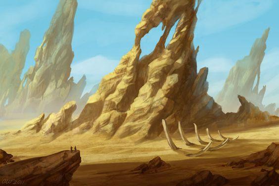 Desert Speedpaint by lithriel on DeviantArt