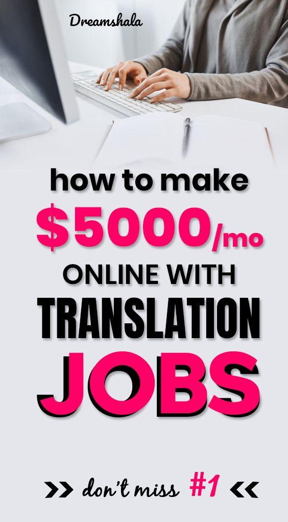 20 Top Websites Offering Online Translation Jobs Updated 2020 Proofreading Jobs Book Editor Career Book Editing