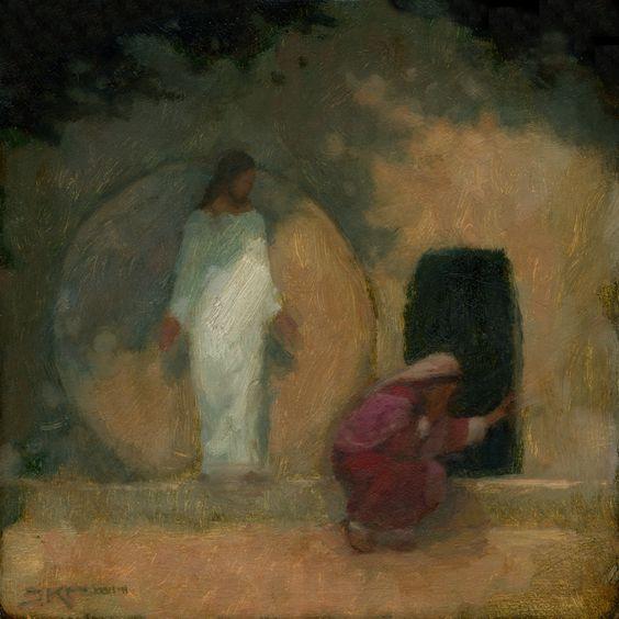 J. Kirk Richards - Garden Tomb dans immagini sacre 1166d0120578a002d9a12c4d05f8a30e