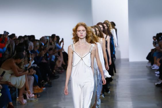 Calvin Klein Fashion Show Ready to Wear Collection Spring Summer 2016 in New York