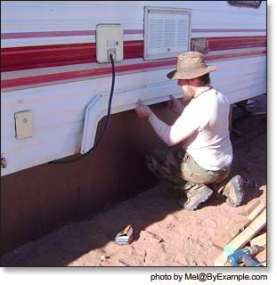 How To Skirt A Trailer 39