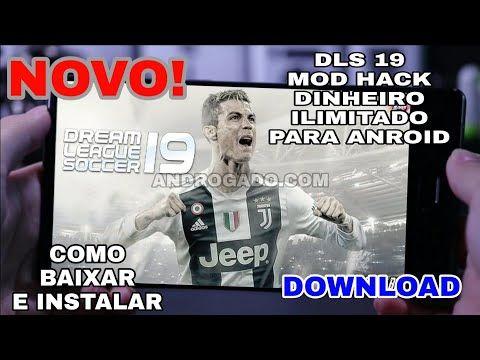 Dream League Soccer 2019 Mod Hackeado Dinheiro Infinito Para