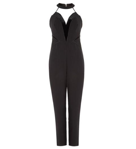Velvet halterneck jumpsuit, £39.00 LIPSY KARDASHIAN KOLLECTION at House of Fraser houseoffraser.co.uk