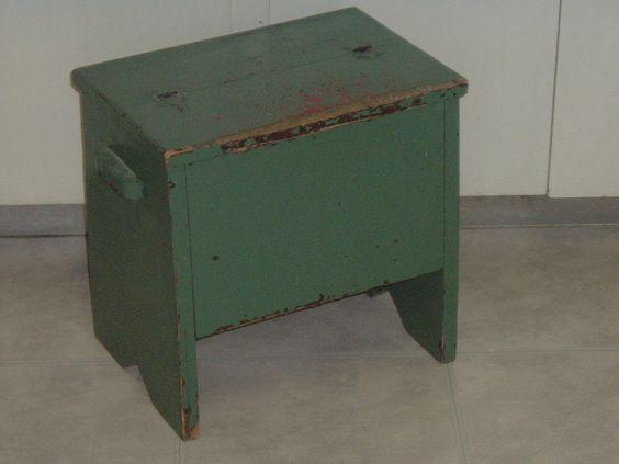 My shabby chippy tool box / stool