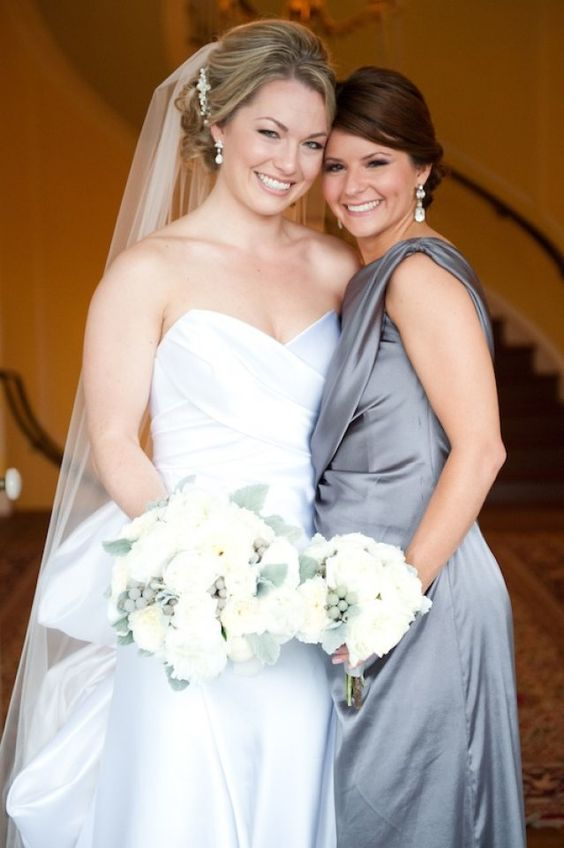 Kristen and her bridesmaid.