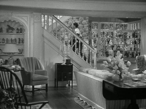 """The Women"" (1939) Cedric Gibbons (Mary Haines' stairs):"