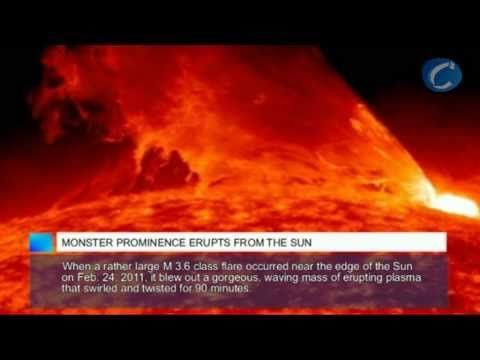 #science : Monster Prominence Erupts from the Sun - The Sun erupted with two prominence eruptions, one after the other over a four-hour period http://www.nasa.gov/mission_pages/sunearth/news/News111612-dblprom.html