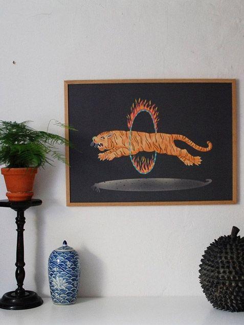 Amazing Tiger Print by Champagne Pony Club