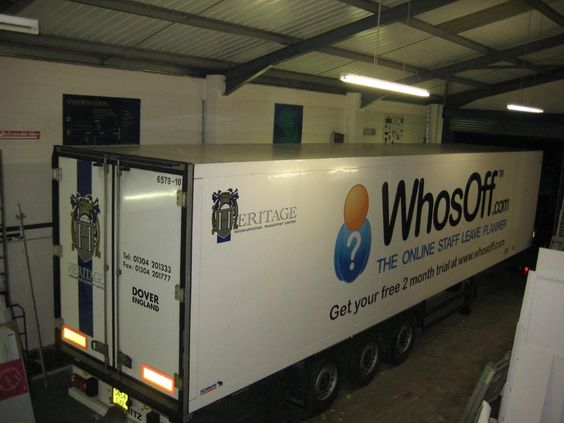 The Whosoff Truck Dover England Office Time Dover