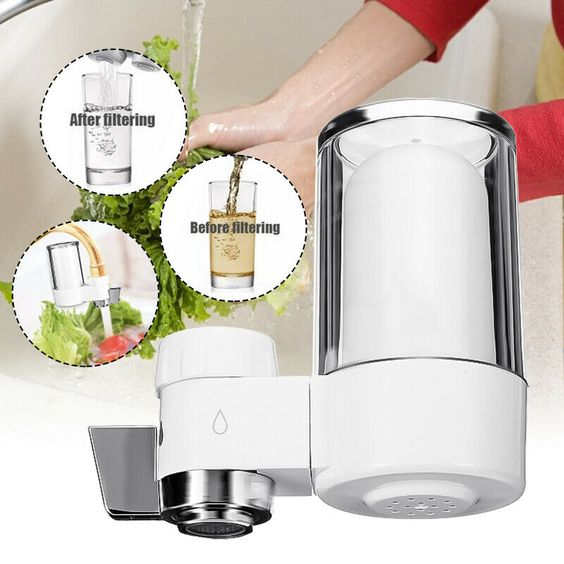 7 Stage Tap Faucet Water Filter System Filtration Purifier Kitchen Home Mount Us Filtered Water Faucet Water Filters System Home Water Filtration