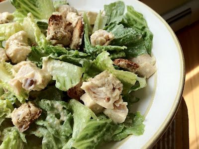 5 ingredient, dairy-free Caesar dressing.