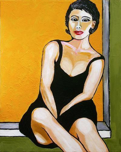 Acrylbild 'Maria' - Angelika Rump