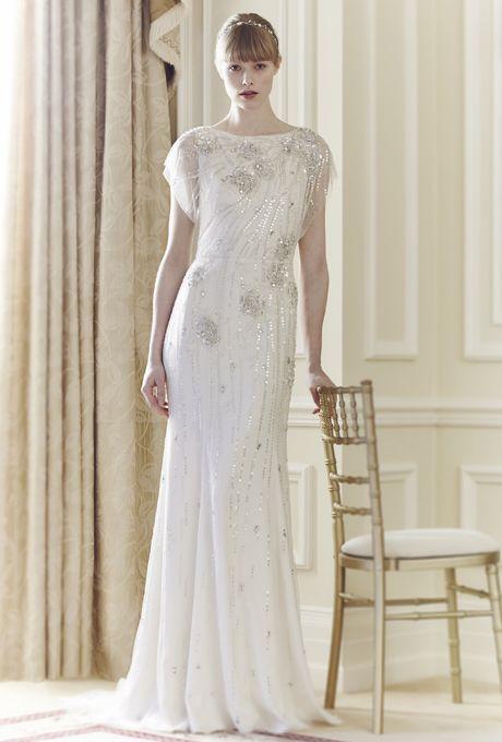 Os presentamos la elegante colección de vestidos de Novia primavera 2014 inspirada en la Belle Epoque de la firma Jenny Packham.