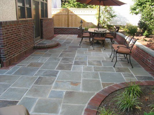 Bluestone Patio Under The Deck Will Be A Project In The New Future However  My Will Be Stain. I Just Canu0027t Afford The Slate.