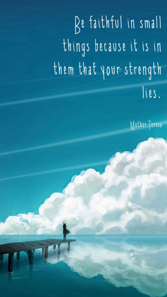 be faithful inspirational quote hd ios7 hd wallpaper