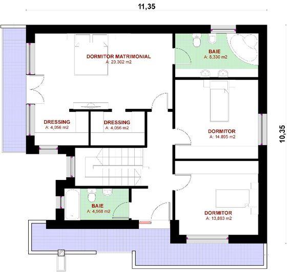 proiect de casa proiect casa proiecte case moderne magazinuldeproiectero - Casa Cub Moderne