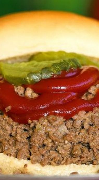 Maid-Rite Copycat Loose Meat Sandwich