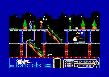 Billy la Banlieue (Loriciels, 1986) Amstrad