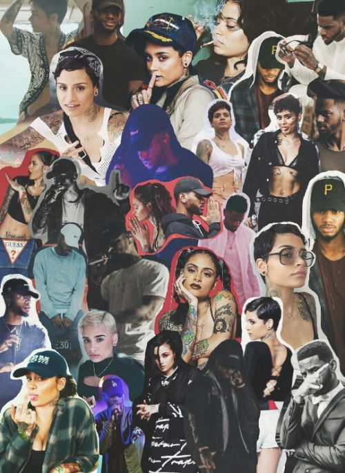 Kehlani Collage Celebrity Wallpapers Screen Wallpaper Iconic Wallpaper