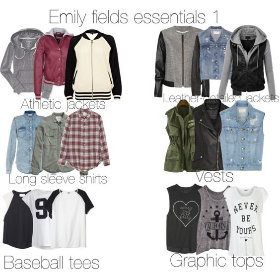 Emily fields essentials part 1 by avaelliott03 on Polyvore featuring moda, Band of Outsiders, ONLY, Aéropostale, H&M, 3.1 Phillip Lim, Pieces, River Island, LE3NO and Current/Elliott