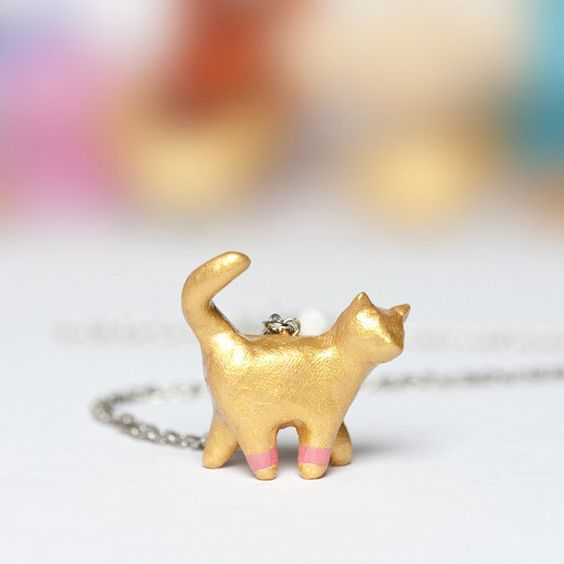 Le Chat Totem Necklace by Le Animale