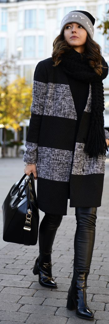 Grey And Black In Madrid by Lovely Pepa