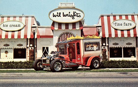 Daisy Bell Ice Cream Truck, by George Barris: Ice Cream Love, Bell Ice, Wilwrights Beverlyhills, Wright S Ice, Wrights Ice, Buses Trucks, Ice Cream Parlor
