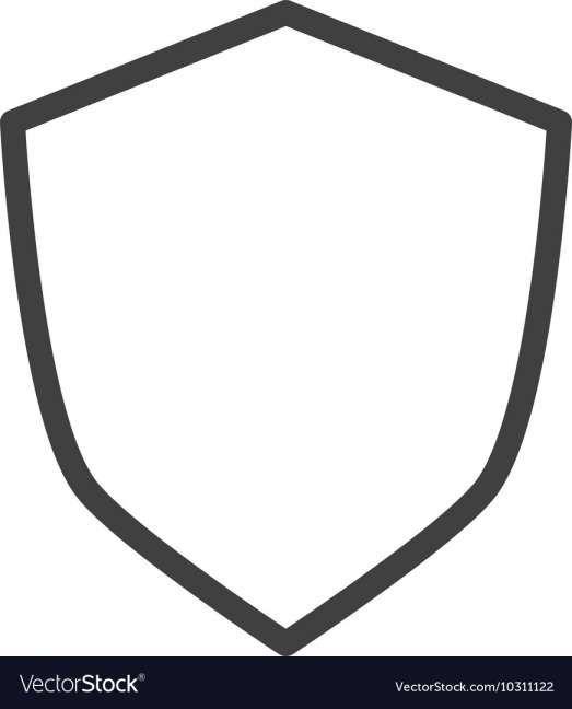 12 Blank Shield Logo Shield Logo Logo Images Shield Icon