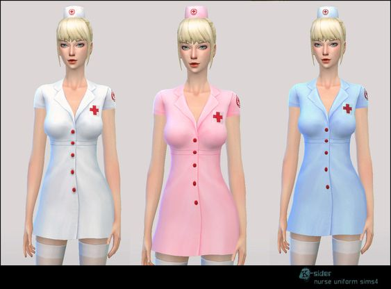 image result for sims 4 nurses outfit yandere sims