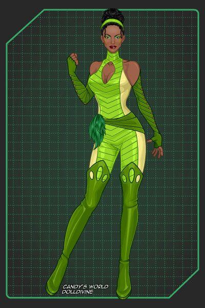 Disney Heroes: Tiana ~ by nightwing2002 ~ created using ... X Men Girl Creator