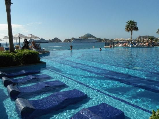 Hotel Riu Santa Fe Infinity Pool Gilts It S Calling Our Names Vacation Someday Pinterest And Cabo