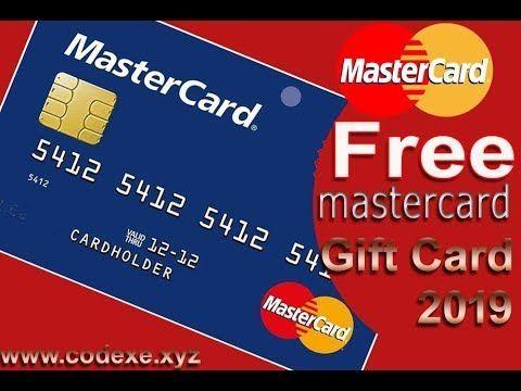 Get free mastercard gift card free visa card master card