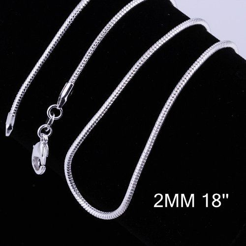 wholesale lots 10 Piece sterling silver Plated 1MM 18 Inch rolo chain necklace