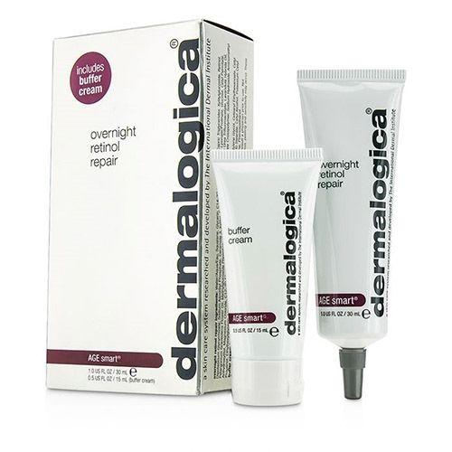 Dermalogica Overnight Retinol Repair 30ml + Buffer Cream 15ml Hediye | 430,10 TL | Dermoeczanem.com
