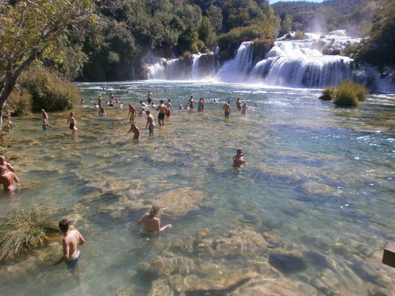 KRKA waterfalls | Croatia | no filter