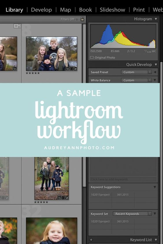 An Example Lightroom Workflow (with free checklist!) I am, The end