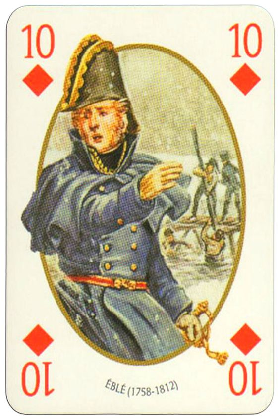 10 of diamonds Face et Dos deck Empire by Carta Mundi