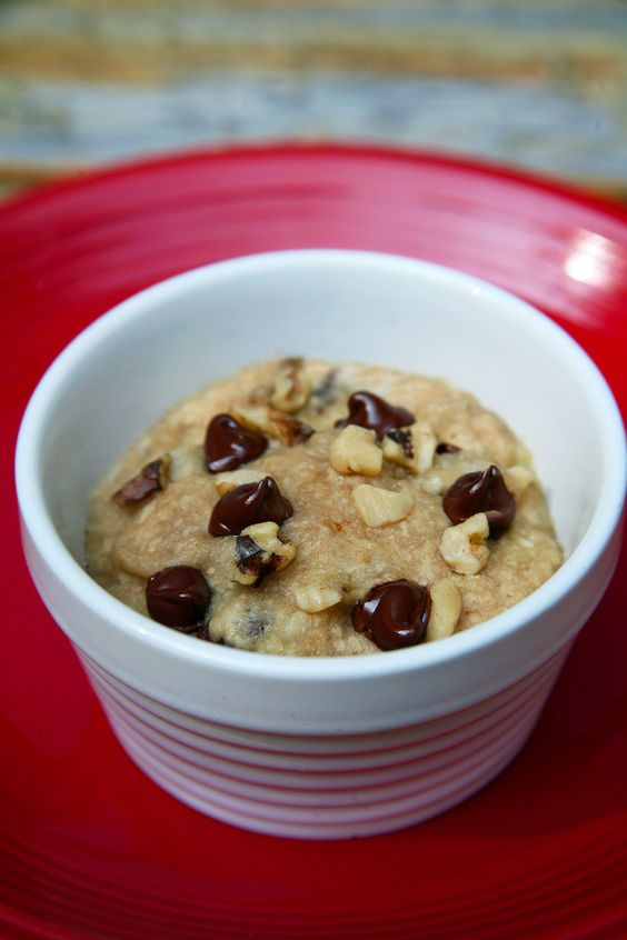 Quick and single serving and under 200 calories! Vegan Banana Bread   POPSUGAR Fitness