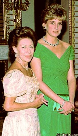 Princesses Margaret and Diana
