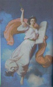La Constitución de México 1857, alegoría