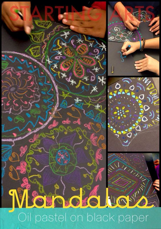 Aztec Calendar Art Lesson Plan : This mandala lesson is versatile to implement with several